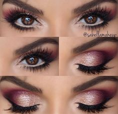 Make up for bridesmaids Eye Makeup Tips, Beauty Makeup, Face Makeup, Prom Makeup, Bridal Makeup, Eyeshadow Tutorial For Beginners, Indian Wedding Makeup, Date Night Makeup, Makeup Palette