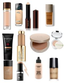 """""""foundation"""" by kristyng03 on Polyvore featuring beauty, Tom Ford, Maybelline, Hourglass Cosmetics, Laura Mercier, Smashbox, Estée Lauder, Eve Lom, Clinique and e.l.f."""