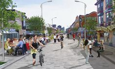 Future Consideration for woonerf street design in Toronto