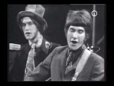 The Kinks-Mr. Pleasant ~ I find it hilarious the little smile Dave receives from his brother, and looks at him dumbfounded.  Dave is fixing his hat repeatedly in the beginning of the video. :)