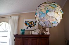 Paisley Sprouts: DIY: map pendant