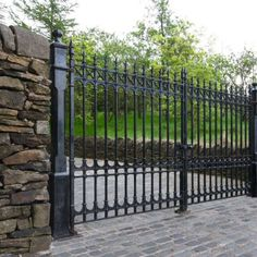 Wrought Iron Fencing Gate Mailbox Fence Options Pinterest Fencing Wrought