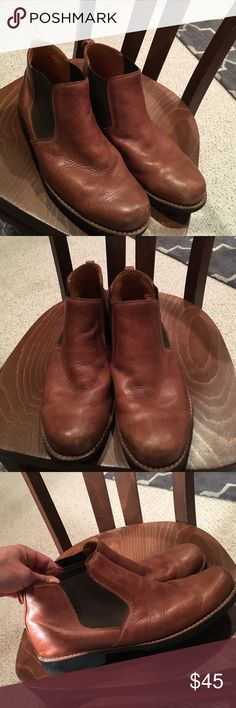 Men's Sandro M Chelsea boots This is one of those brands DSW always has lol BUT these are EUC really nice Chelsea boots. Super soft leather. Rubber sole. Stitched in sole (not cheap stamping). Barely worn. Pretty rigid on price because if I don't get what I want I will keep 'em but feel free to make an offer if you're feeling them :) Sandro Shoes Boots