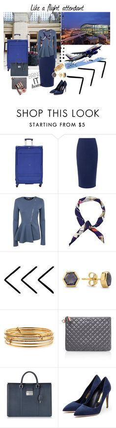 """""""Like a ......."""" by bv-b ❤ liked on Polyvore featuring Delsey, C/MEO COLLECTIVE, STELLA McCARTNEY, Missoma, Kate Spade, M Z Wallace, Pineider, Charlotte Tilbury, Rupert Sanderson and PAM"""