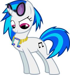 Vinyl Scratch - The Element of Wubs Checkin' Out Her Swag by jaybugjimmies.deviantart.com @deviantART