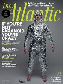 Health News, in this issue of the Atlantic Magazine. The table salt you're eating may be full of plastic.