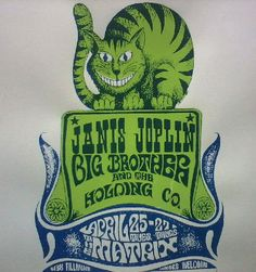 *JANIS JOPLIN*                                                           Big Brother and the Holding Co.                               The Matrix  Gig poster