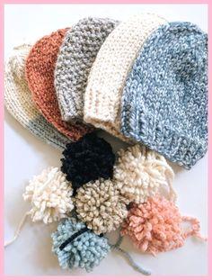 Free Knit Hat Pattern - Cosy von Caroline , Free Knit Hat Pattern — Cozy by Caroline , knitting . Beanie Knitting Patterns Free, Beanie Pattern Free, Crochet Beanie Pattern, Easy Knitting, Knit Or Crochet, Loom Knitting, Knit Patterns, Crochet Hats, Free Pattern