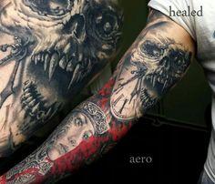 15 half sleeve tattoo designs for girls women tattoos for Mobile tattoo artist