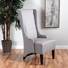 4dc893d7a8b0 Christopher Knight Home 299947 Callie Light Grey Fabric Dining Chair Best Dining  Table USA Kitchen Chairs