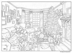 Merry Christmas - Art by © Chiara Di Francia -   http://chiaradifranciailblog.blogspot.it/  ( blog that collects comics , illustrations , print and sketch /  blog qu'il recueille bandes dessinées , illustrations , etampes et croquis )