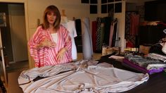 This episode covers another great alternative to a beautiful cape made just for the summer. The public television home page. -- http://www.fit2stitch.com. Ou...
