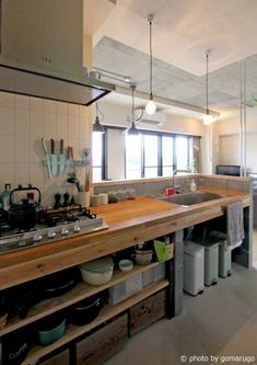 Fantastic Ideas Can Change Your Life: Industrial Restaurant Architecture large i. - Fantastic Ideas Can Change Your Life: Industrial Restaurant Architecture large industrial lighting. New Kitchen, Kitchen Dining, Kitchen Decor, Design Kitchen, Vintage Kitchen, Kitchen Pantry Cabinets, Kitchen Grey, Kitchen Walls, Kitchen Modern