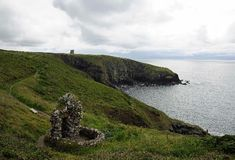 Ardmore, County Waterford, Ireland, featured in Nora Roberts' Irish trilogy. This is the cliff walk.