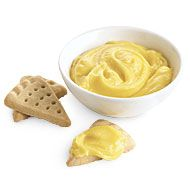 This alternative to lemon curd is delicious sandwiched between shortbread cookies, swirled into yogurt, folded into whipped cream for a mousse, or dolloped over pound cake and topped with berries. No Salt Recipes, Great Recipes, Cooking Recipes, Favorite Recipes, Cooking Ingredients, Brulee Recipe, Curd Recipe, No Egg Desserts, Dessert Recipes