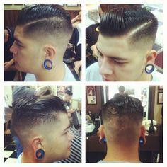 guiverme13:  Traditional barbershop from Brazil. Barbearia 9 de Julho.