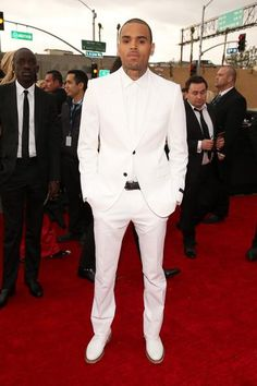 C. Breezy at the Grammys