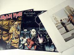 Coleção de disco de vinil