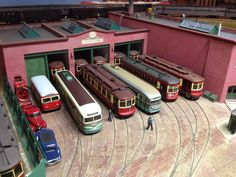 model streetcars barn | Train buff has front seat view from Hinsdale home - The Doings ...