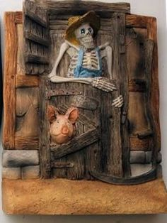 Death as Bill Door DW75 & Pin by Joe Pattison on Clarecraft and Discworld figurines by Joe ... pezcame.com