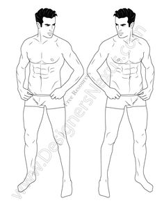 Download this free male croqui fashion illustration template to showcase your menswear apparel designs! This mens fashion figure template shows a male fashion model standing in a front view pose (slightly ¾ view). Download for free in both Adobe Illustrator vector format (compatible with CS2 & newer versions) and PNG format with transparent background. Click …