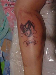 Tatuaje, Harley quinn, dc, comic