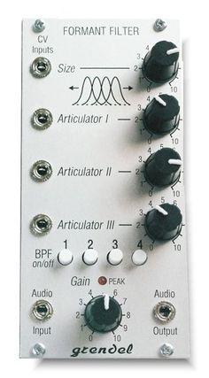 Grendel Formant Filter #eurorack #modular