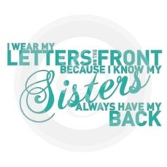 Quotes about sorority sisterhood