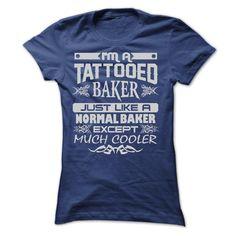 TATTOOED BAKER - AMAZING T SHIRTS T Shirt, Hoodie, Sweatshirt