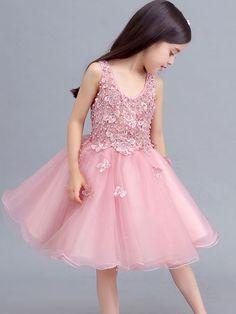 Kids Genuine Designerwear for Girls Dresses Prom Dresses Long With Sleeves, Wedding Dresses For Girls, Tutus For Girls, Little Dresses, Little Girl Dresses, Pretty Dresses, Girls Dresses, Kids Gown, Party Frocks