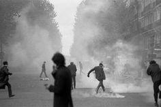 May 1968, France riots.