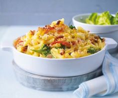 Penne and Cheese mit Broccoli