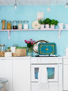 モダン北欧キッチン画像