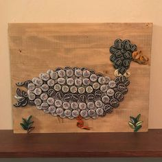 Diy Bottle Cap Crafts 659144095435172637 - This mallard made a great gift for a duck hunter! Check out other great bottle cap pieces by The Tipsy Tiger! Source by thetipsytiger Beer Cap Art, Beer Bottle Caps, Bottle Cap Art, Beer Caps, Diy Bottle Cap Crafts, Beer Cap Crafts, Bottle Cap Projects, Duck Hunter Gifts, Gifts For Hunters