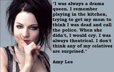 Amy's quote! - amy-lee Photo