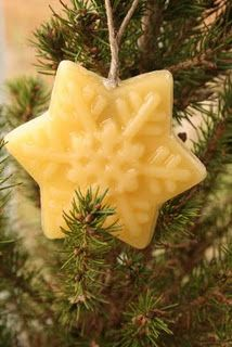 Beeswax Ideas: beeswax ornaments
