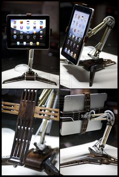 I-Poise Steampunk iPad Stand by back2root.deviantart.com on @deviantART