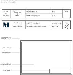 Layout and Title Block: JUL2016 - Diploma of Interior Design & Decoration… #InteriorDesignCourses