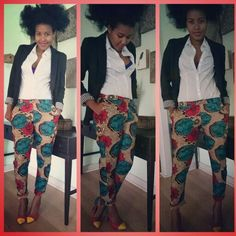 my designs ny style african print pants