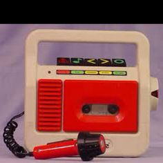 My first cassette player !