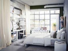 Decoration and Storage Ideas for Small Bedrooms