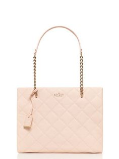 Kate Spade A Modern Take On Chanel S Quilted Bag Is This Emerson Place Phoebe Pale