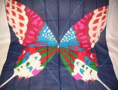 Vintage Hanae Mori Silk Scarf from EmmasVintageShop