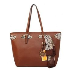 Welcome To Our Michael Kors Jet Set Scarf Large Brown Totes Online Store