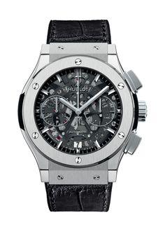 Classic Fusion Aero Titanium Chronograph watch from Hublot