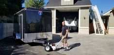 Trailer Dolly, Utility Trailer, Camper Trailers, Baby Strollers, Boat, Trucks, Children, Simple, Campers