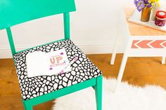 How to Reupholster a Thrift Store Chair in 4 Easy Steps   Brit + Co
