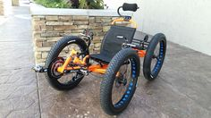 Custom Catrike Cat-4 Quad by UT Custom by Utah Trikes - check out all our special projects and custom builds
