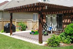 2 in 1: pergola and terrace roof