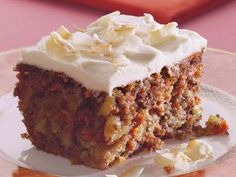 healthy carrot cake ~ another carrot cake recipe, so little time. ...said Shelly